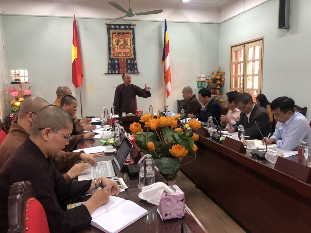 Ban VHTW GHPGVN: Triển khai 3 sự kiện phật sự tại Lào