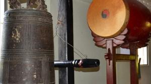 Chuông thần ở chùa Pháp Vũ