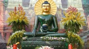 Lễ an vị tượng Phật Ngọc Hòa Bình thế giới tại chùa Đại Tuệ