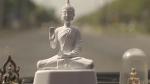 Tượng Phật giúp lái xe an toàn và thận trọng