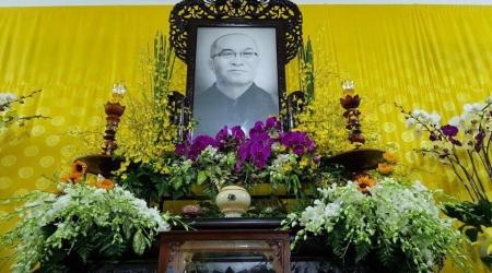 Khánh Hòa: Hoà thượng Chủ tịch viếng tang HT. Thích Trí Viên