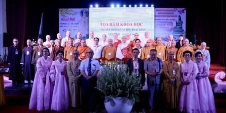 """Đà Nẵng: Toạ đàm Khoa học """"Truyền thống Văn hoá Phật giáo Việt Nam- Hàn Quốc"""""""
