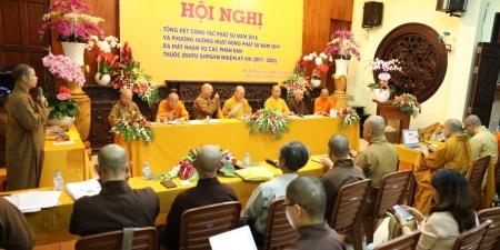 TP HCM: Phiên Trù bị Hội nghị tổng kết Công tác Phật sự Ban Văn hoá TƯ khu vực phía Nam