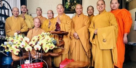 Ban Văn hóa TƯ và Ban Văn hóa TP.HCM thăm và chúc tết chư Tôn đức lãnh đạo Giáo hội