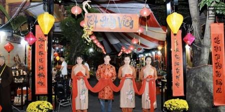 """TP. Hồ Chí Minh: Khai mạc Lễ hội Văn hoá """"Tết Đoàn viên"""" tại Chùa Phổ Quang"""