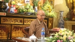 Hòa thường Thích Huyền Diệu nói chuyện tại chùa Yên Phú - Liên Ninh - Thanh Trì - Hà nội