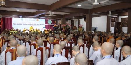 """TP.HCM: Ban Văn hóa Trung ương tọa đàm khoa học """"Nghệ thuật diễn thuyết xướng ngôn trong Phật giáo"""""""