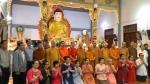 (3.9.2019), Đoàn công tác GHPGVN khảo sát chùa Việt Nam tại Lào:  PHẬT TỬ CHÙA BỒ ĐỀ KHAO KHÁT ĐƯỢC THỈNH SƯ