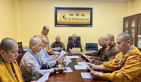 TP. HCM: Phiên họp đúc kết tổ chức lễ hội Phố Ông Đồ chào đón xuân Tân Sửu- 2021