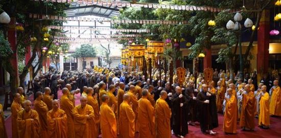 Ngày truyền giới chính thức của Đại giới đàn Hà Nội PL2565 – DL2021