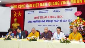 Hà Nội: Hội thảo khoa học Sư bà Phương Dung tại Viện nghiên cứu Tôn giáo - Phật tử Việt nam