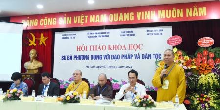 Cơ sở khoa học công nhận Sư bà Phương Dung là Danh nhân phật giáo tiêu biểu Thủ đô - Người làm báo