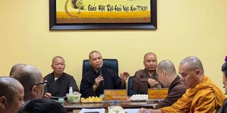 """TP.HCM: Ban Văn hoá Phật giáo thành phố họp sơ kết 6 tháng đầu năm và kế hoạch cuộc thi: """"Nguyện làm con thảo""""."""