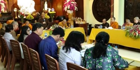 TP.HCM: Ban Văn hóa Trung ương GHPGVN Tọa đàm thẩm định pháp phục Cư sĩ Phật giáo Việt Nam