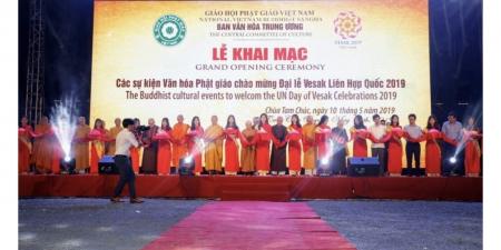 Hà Nam: VESAK 2019 Khai mạc chuỗi sự kiện chào mừng Đại lễ