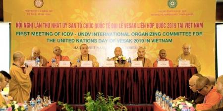 Hà Nội: Hội nghị Ủy ban tổ chức Quốc gia GHPGVN Đại lễ Vesak LHQ 2019 tại Việt Nam