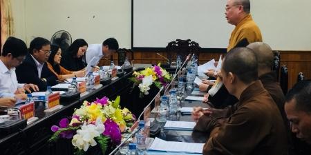 Hà Nam: Họp về công tác chuẩn bị đại lễ Vesak Liên hợp quốc 2019 tại UBND Tỉnh