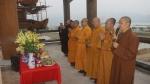 Hà Nam: Hội Đồng Trị Sự TƯ GHPGVN thăm và khảo sát chùa Tam Chúc