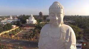 lễ Phật đầu năm - Giới thiệu chùa Việt qua flying cam