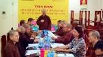 Ban VHTW GHPGVN: Họp kiểm tra công việc chuẩn bị tổng kết  công tác Phật sự 2018