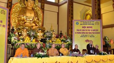 Hà Nội: Hội nghị Tổng kết Phật sự năm 2018 và Lễ ra mắt các Phân ban trực thuộc Ban Văn hoá Trung ương