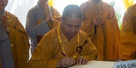 Ban Văn Hóa Trung Ương GHPGVN viếng tang cố Hòa Thượng Thích Trung Hậu