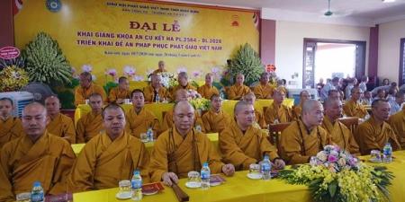 Ninh Bình: Triển khai đề án Pháp phục Phật giáo Việt Nam tại buổi Lễ khai pháp Trường hạ cơ sở 2