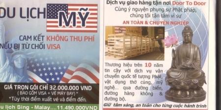 Không nên sử dụng hình Phật để… quảng cáo?