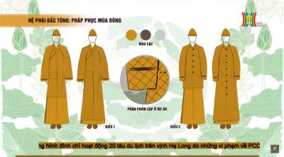 Giáo hội Phật giáo Việt nam sẽ có pháp phục mang bản sắc riêng