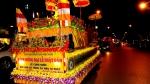 Phóng sự ảnh : Hà Nội Diễu hành xe Hoa Đức Phật Đản sinh,rước Xá Lợi Phật