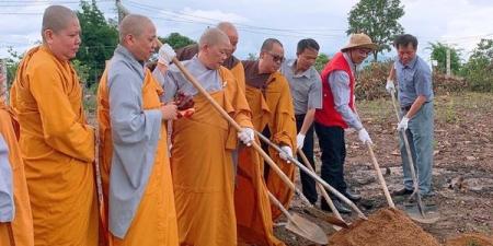 Ban Văn hóa GHPGVN TP.HCM làm lễ khởi công xây dựng 2 công trình trường học tại Gia Lai.