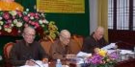 Hội nghị giao ban:   Giáo hội cần làm rõ vấn đề của chùa Tân Diệu