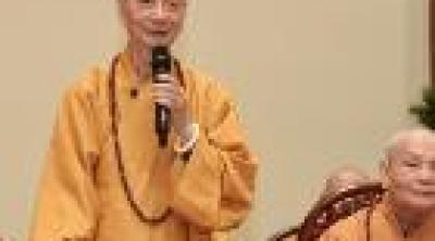 Trưởng lão   HT.Thích Trí Quảng đạo từ tại chùa Phật Cô Đơn