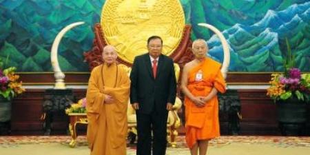Hoà thượng Chủ tịch Thích Thiện Nhơn chia sẻ 7 sáng kiến hợp tác Phật giáo Đông Dương