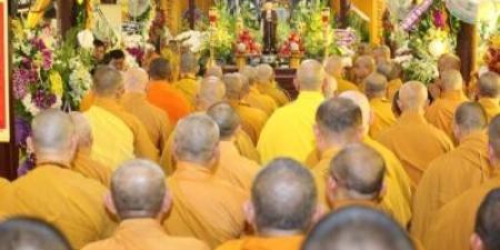 Trung ương Giáo hội viếng tang Hoà thượng Thích Trung Hậu