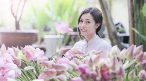 Á hậu Phan Quỳnh Ngân: Sống đẹp nhờ tin yêu Phật giáo